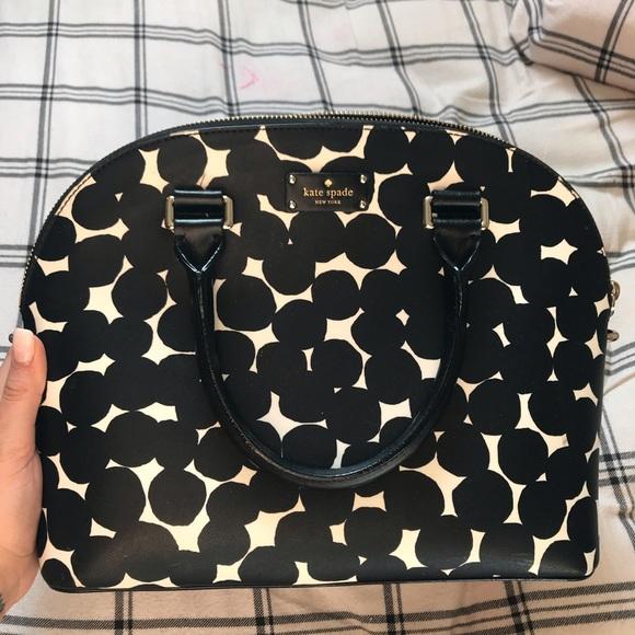 kate spade Handbags - KATE SPADE Large Bowler Bag